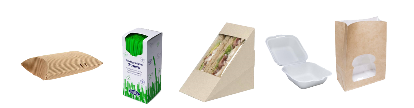 new biodegradable packaging-set